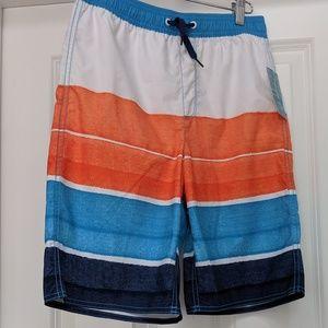 NWT Old Navy boys striped board shorts